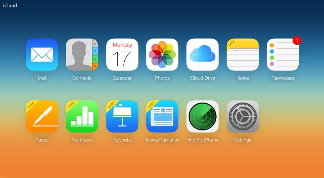 apple-icloud-homescreen how to Merge Apple ID's | Looking To Merge Your Apple ID's? Well, Here's Our Way Around It.