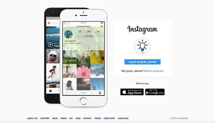 How to delete an instagram account in 5 minutes instagram on desktop ccuart Choice Image