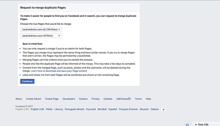 merge-facebook-pages-request | How To Merge Facebook Pages In 4 Easy Steps