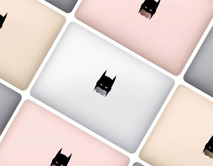 batman macbook sticker   Top 20 Gadgets And Accessories For Superhero Fans