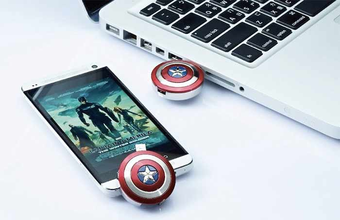 captain america stick | Top 20 Gadgets And Accessories For Superhero Fans