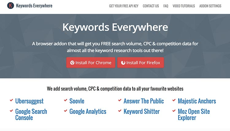 keywords-everywhere | The 11 Best SEO Competitive Analysis Tools For 2017