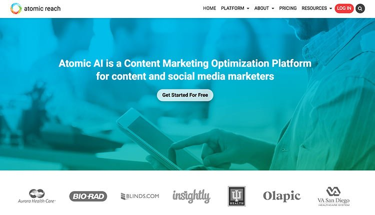 atomic-reach| 9 Resources Which Help Every Marketer To Find Ideas For Shareable Content